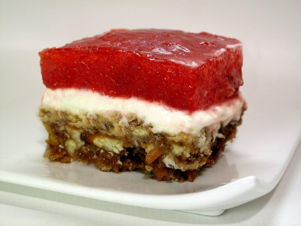 Utah: Jell-O Pretzel Salad