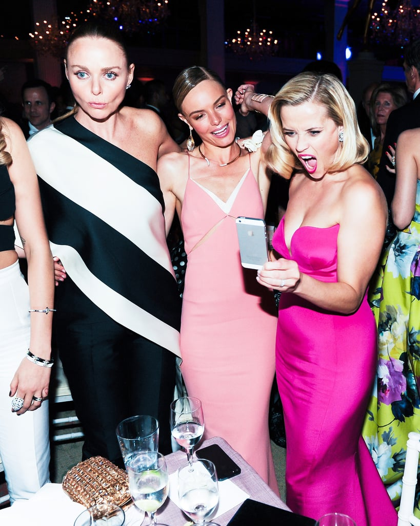 Reese Witherspoon pulled out her phone alongside Kate Bosworth and Stella McCartney.
