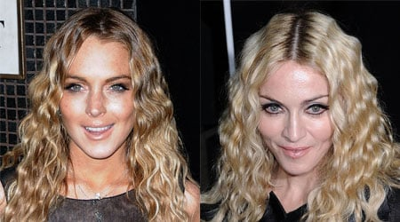 Clash of the Curls, Madonna or Lindsay?