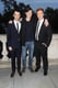 Tom Sturridge, Sam Riley, Danny Morgan posed for a photo at the UK premiere of their new film On The Road.