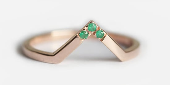 16 Colorful Wedding Bands For Brides Who Want To Mix It Up