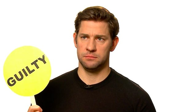 "We Played ""Never Have I Ever"" With John Krasinski And Obviously It Was Hilarious"