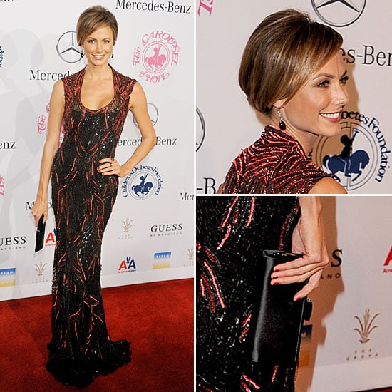 Stacy Keibler With George Clooney at Carousel of Hope Ball