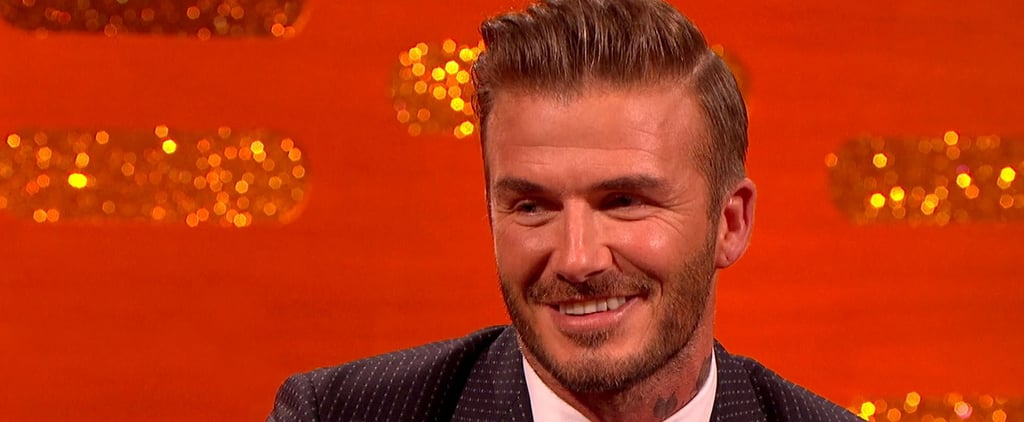 "David Beckham on His Son Brooklyn: ""He Doesn't Think I'm a Cool Dad"""