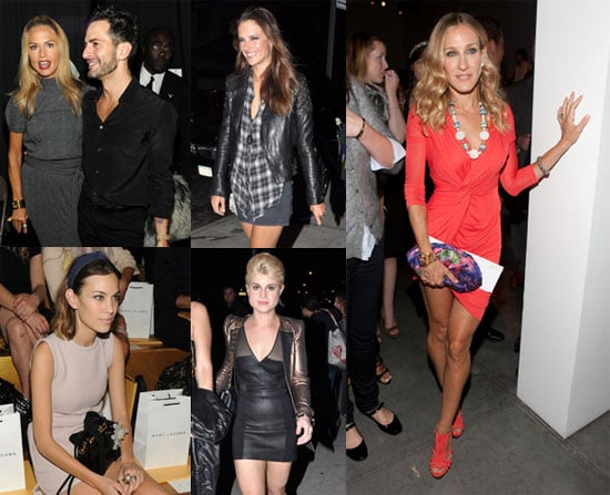 Pictures of Sarah Jessica Parker, Rachel Zoe, Alexa Chung, and More at 2011 Spring New York Fashion Week 2010-09-14 10:00:00