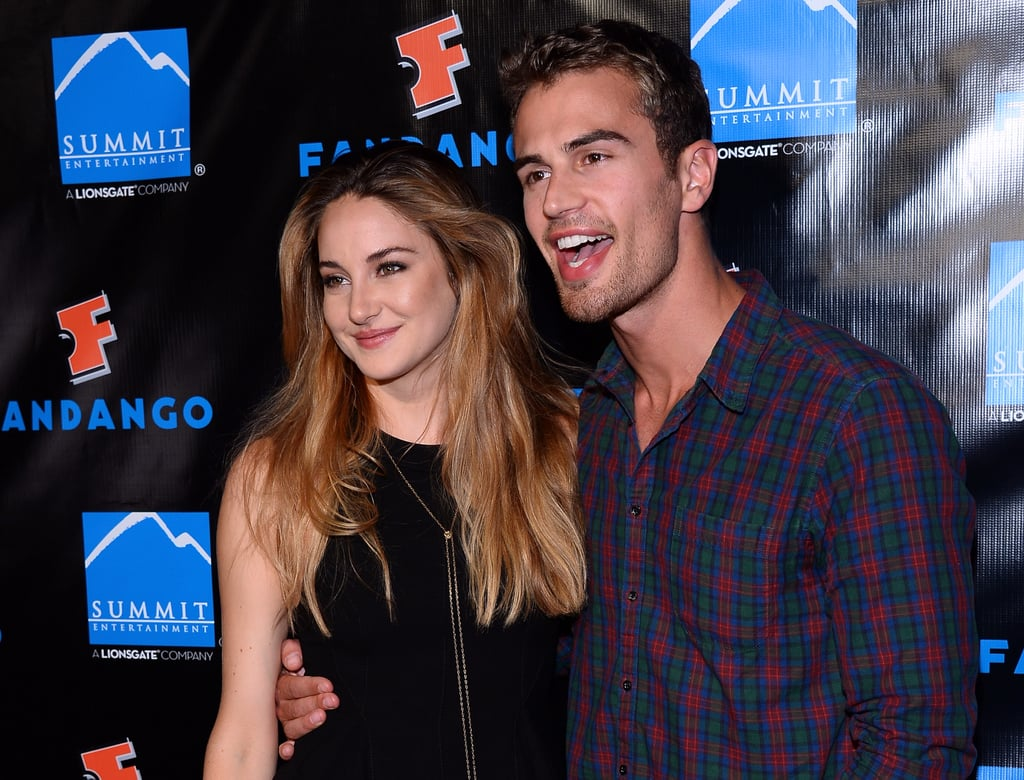 They smiled big at Comic-Con in San Diego last Summer.