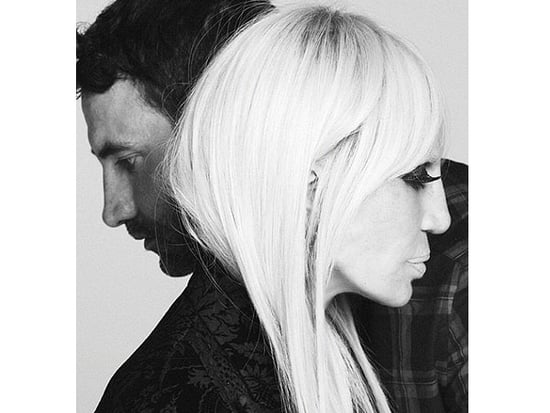 Donatella Versace Is the Face of a Major Fashion Brand (and It's Not Her Own!)