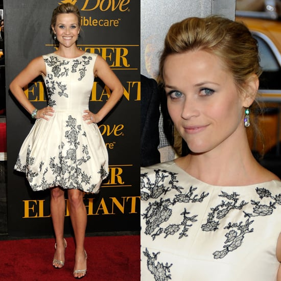 Reese Witherspoon Wears Jason Wu Dress to Water for Elephants New York Premiere