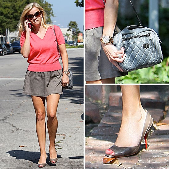 Reese Witherspoon Wearing a Miniskirt