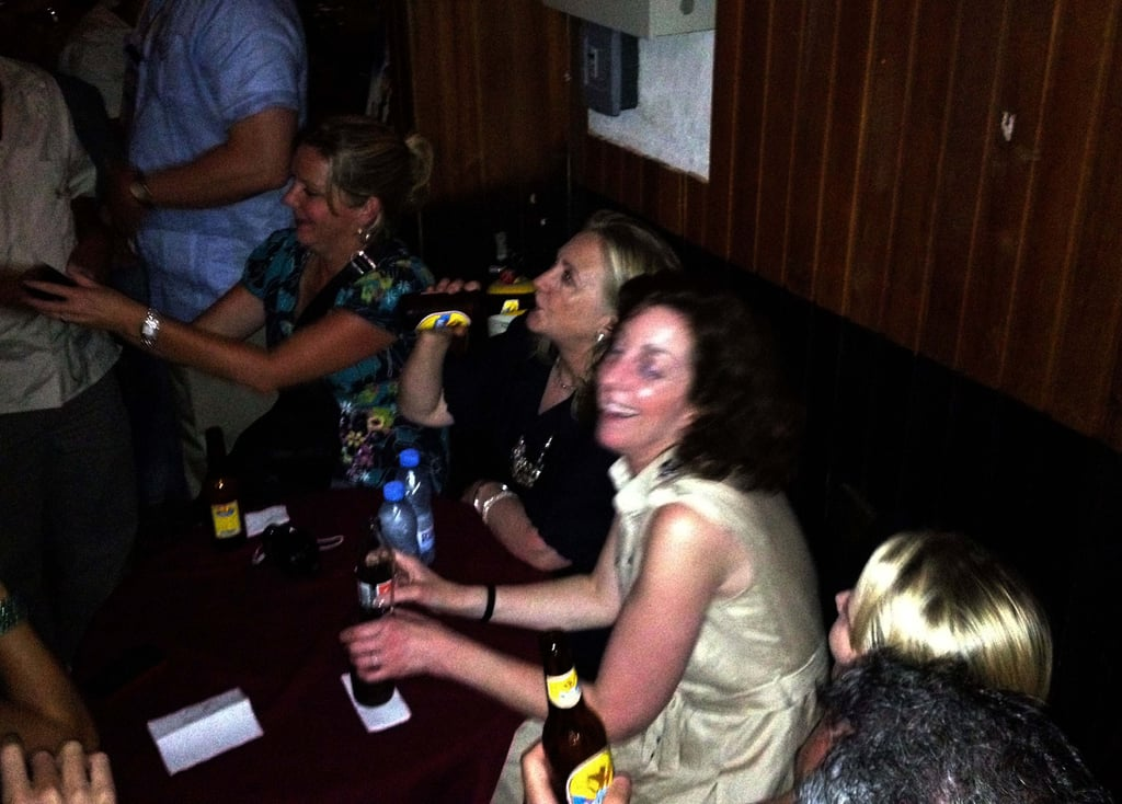Former Secretary of State Hillary Clinton relaxed at Cafe Havana in Cartagena, Colombia, during a 2012 visit.