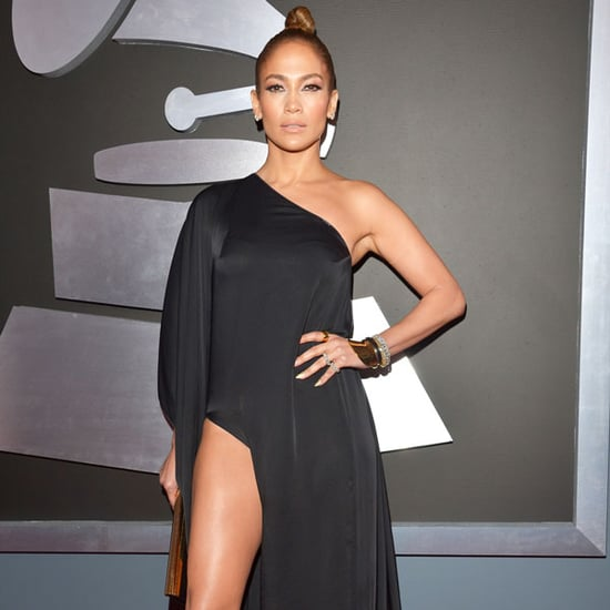 See Jennifer Lopez in Anthony Vaccarello 2013 Grammys
