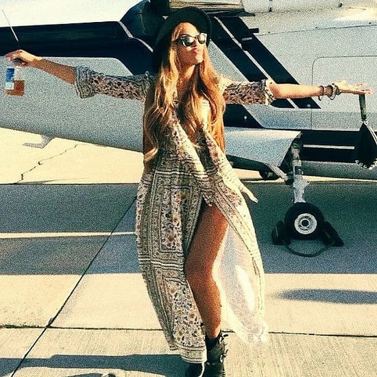 Celebrity Instagrams at Coachella 2015