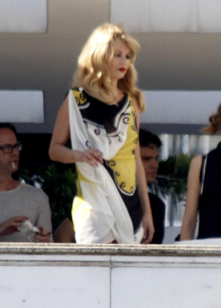 Kate Moss Gets Camera Ready For Mario Testino