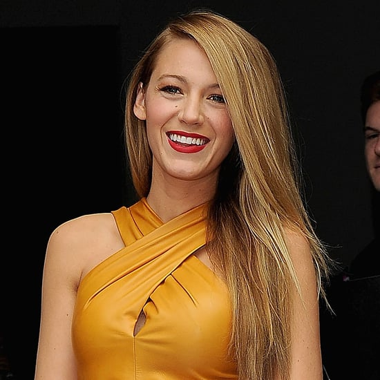 Celebrities At 2014 Spring Milan Fashion Week: Blake Lively