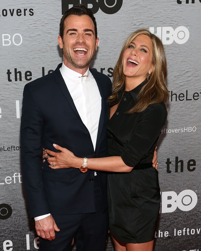 Justin and Jennifer flashed big smiles at The Leftovers' premiere in NYC in June 2014.