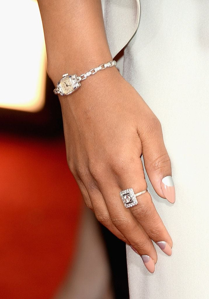 We've found that pinners can't get enough of nail art. So, this close-up of Kerry Washington's manicure at the Golden Globes was ideal eye candy.