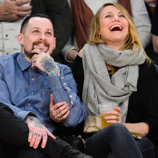 Benji Madden's Cameron Diaz Post on Instagram January 2016