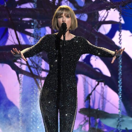 Taylor Swift Grammys 2016 Glitter Bomb