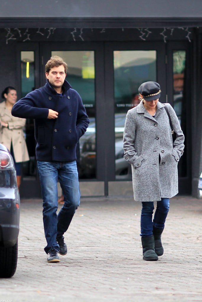 Joshua Jackson and Diane Kruger went to a sports bar to cheer on the San Francisco 49ers together in Vancouver.