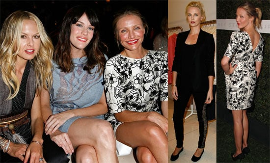 Photos of Cameron Diaz, Liv Tyler, Rachel Zoe, Charlize Theron at Stella McCartney's Home Screening