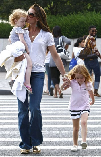 Brooke Shields and Girls in NYC