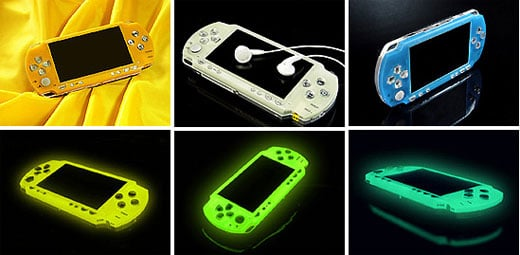 Cheap Covers Give Sony's PSP a Nice Glow