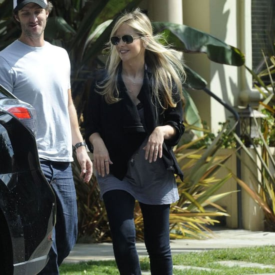 Sarah Michelle Gellar Wearing Motorcylce Jacket | Pictures