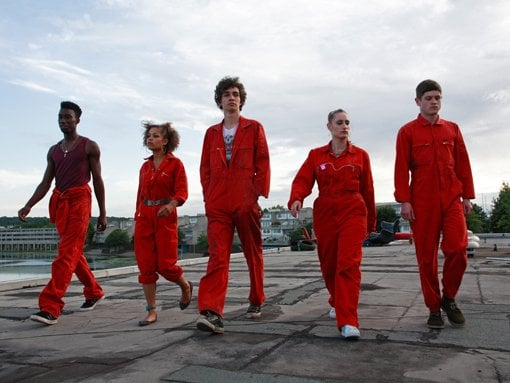 Trailer For E4 New Series Misfits