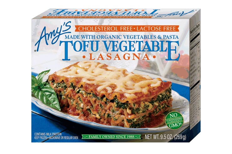Amy's Tofu Vegetable Lasagna