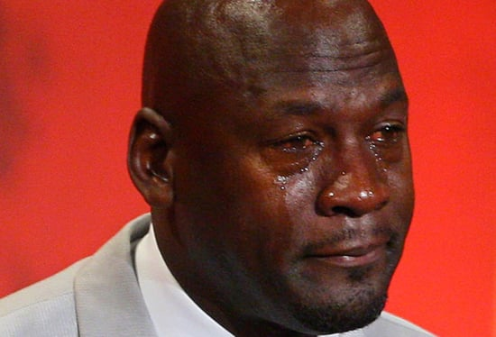 The Crying Jordan Is Now a Sneaker—And It's Amazing