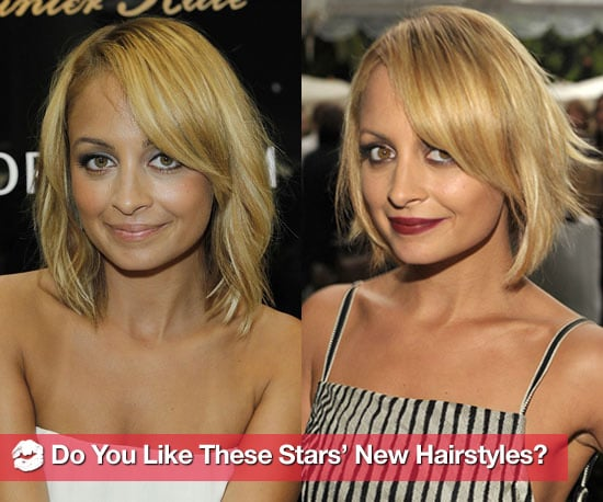 Pictures of Celebrities With New Haircuts