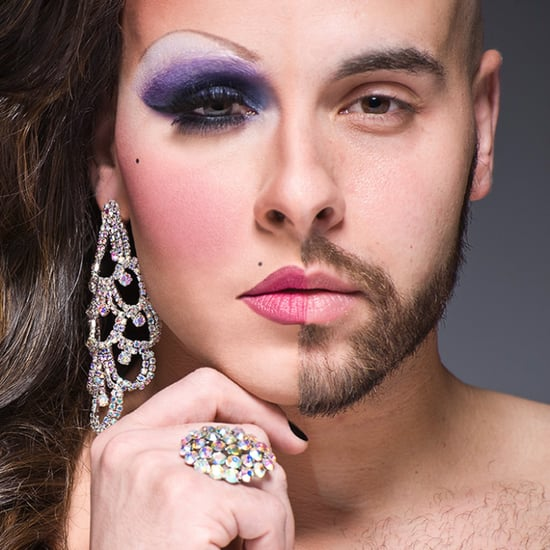 These Half-Drag Portraits Reveal the Transformative Power of Makeup