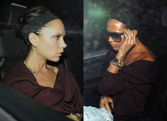 Photos of Victoria Beckham Wearing No Makeup in London, Gossip on Victoria Beckham to Judge UK So You Think You Can Dance