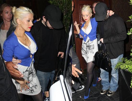 Christina's Got Jordan's Shoulder to Lean On