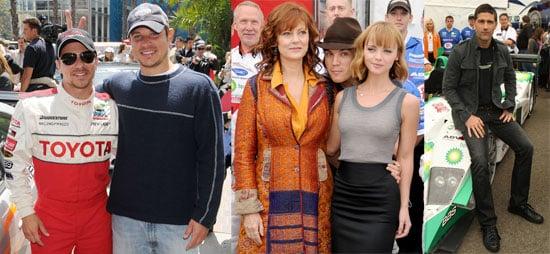 Matthew Fox, Emile Hirsch, Christina Ricci, Nick Lachey at the 2008 Toyota Pro/Celebrity Race in Long Beach on Saturday