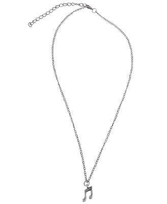 Forever 21 Music Necklace