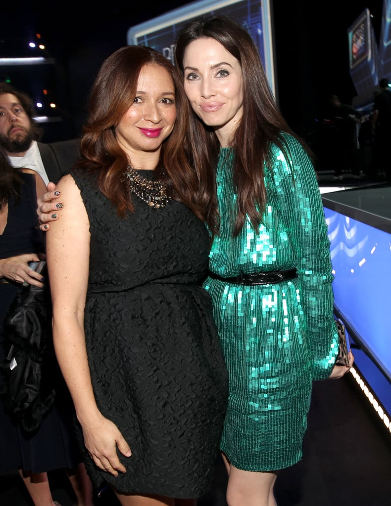 Maya Rudolph and Whitney Cummings