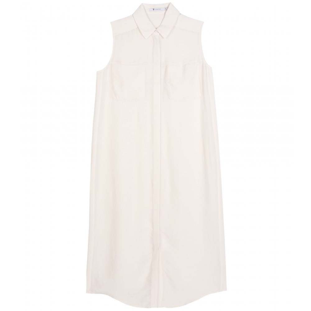 Easy, breezy, with a sophisticated collar — this is a Summer LWD essential. T by Alexander Wang Sleeveless Silk Shirt Dress ($169, originally $279)