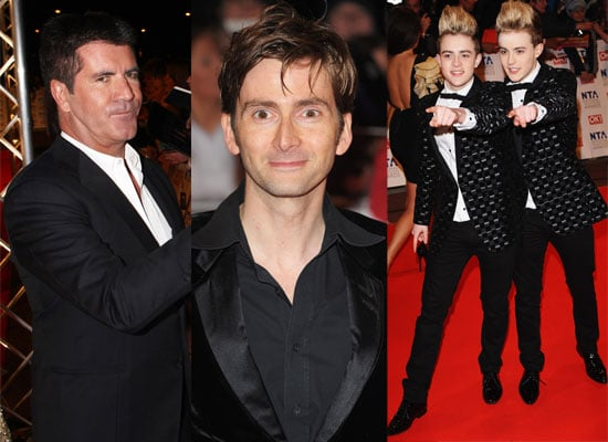 Celeb Men on NTAs Red Carpet Photos at the National Television Awards 2010