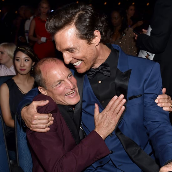 Matthew McConaughey and Woody Harrelson at the Emmys 2014