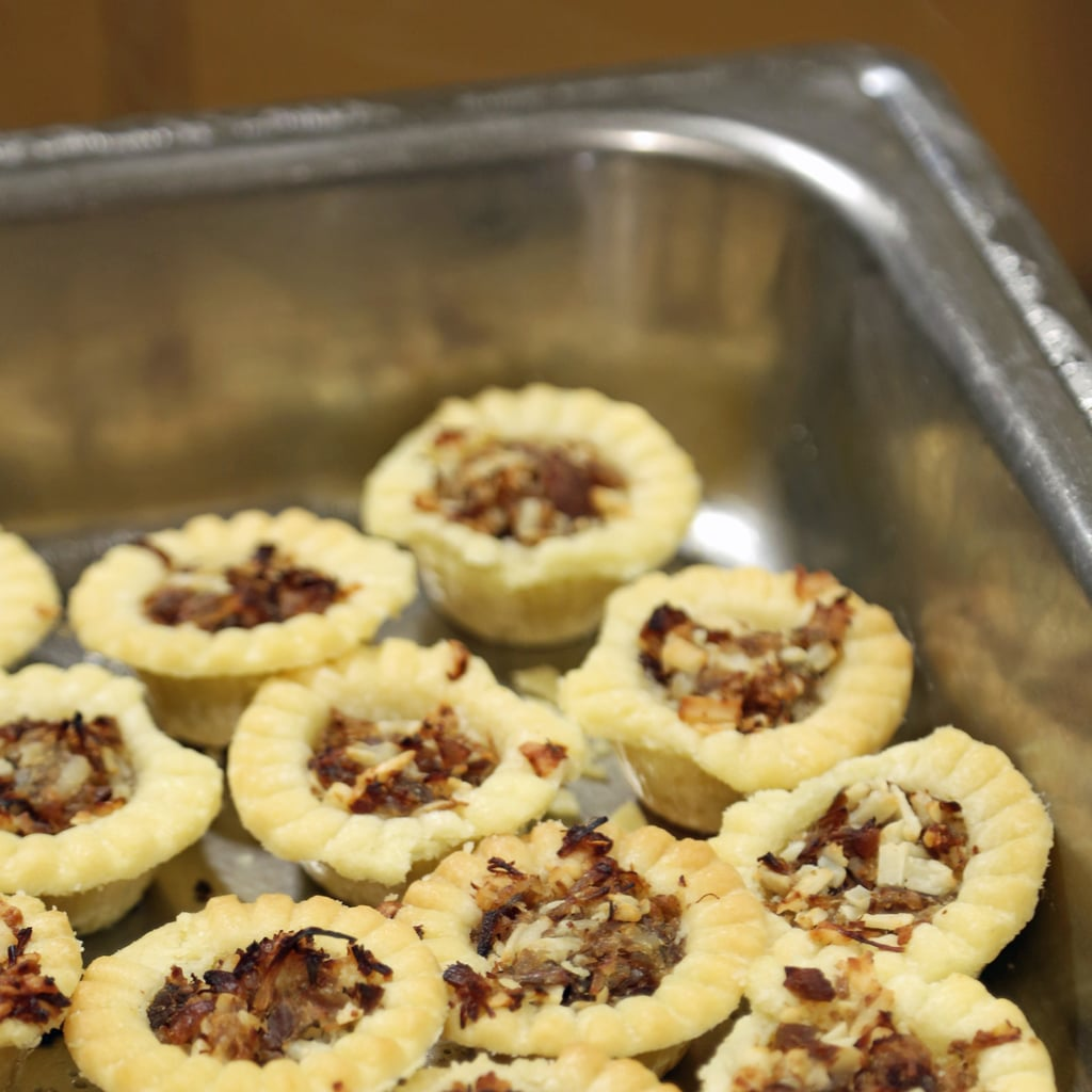 Duck and Goat Cheese Tartlets
