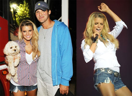 Photos of Jessica Simpson and Tony Romo At 16th Annual Country Thunder USA in Twin Lakes, WI