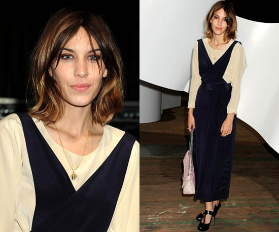 Photos of Alexa Chung at the 3.1 Philip Lim Spring 2011
