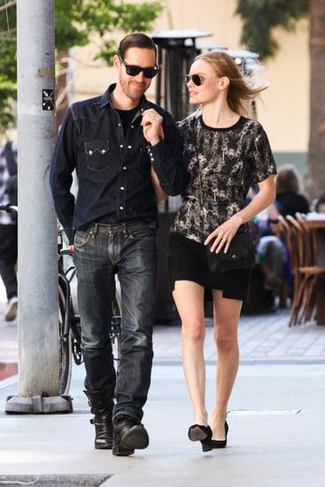 Kate Bosworth and Michael Polish Walking in LA