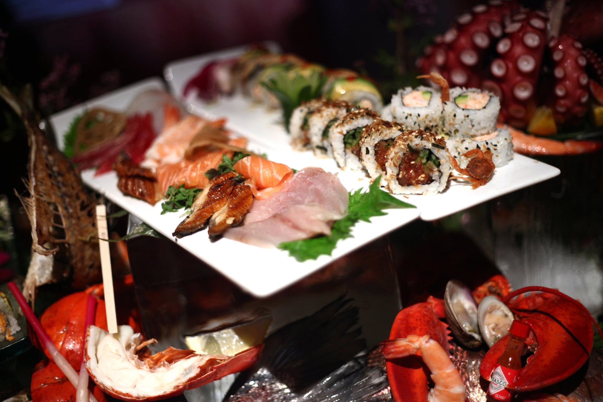 Sushi and Seafood Station