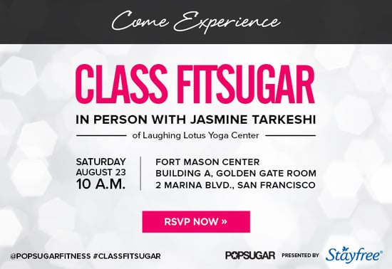 You're Invited to Attend Our Class FitSugar Event in San Francisco!