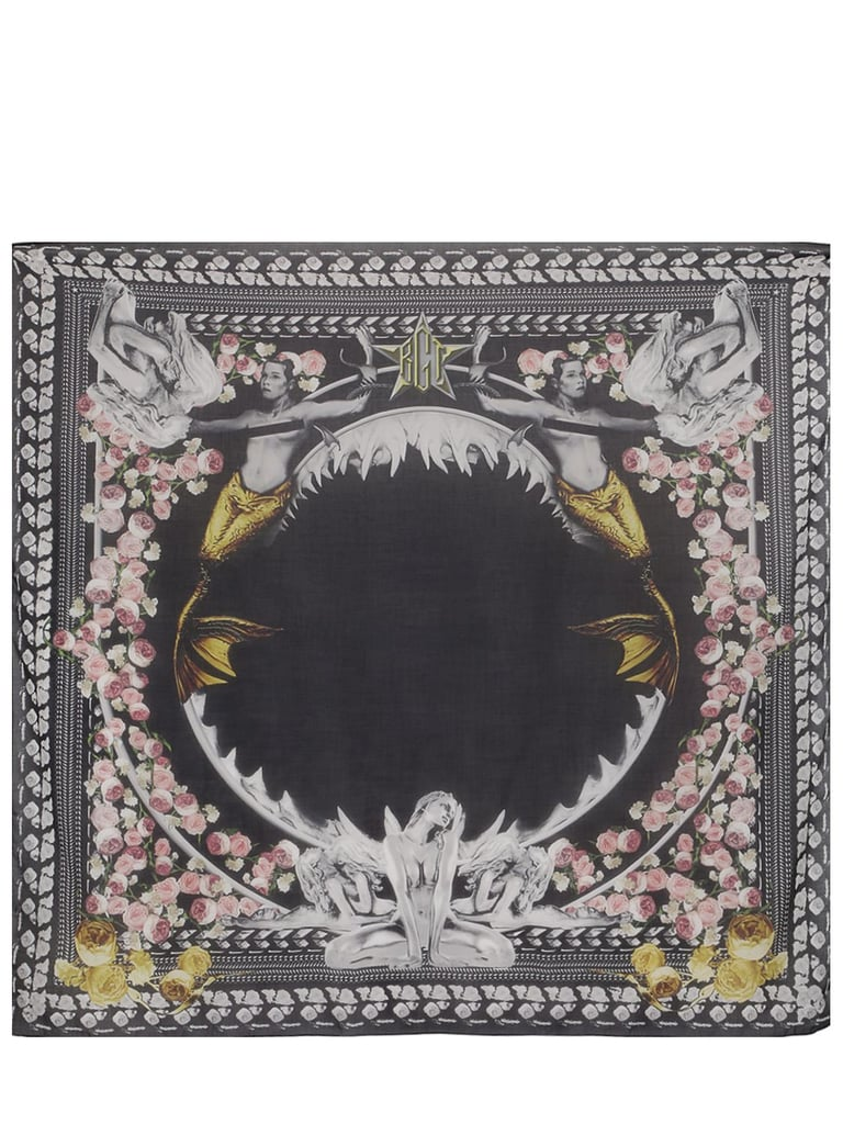 Givenchy Cotton and Modal Shark Scarf ($565)