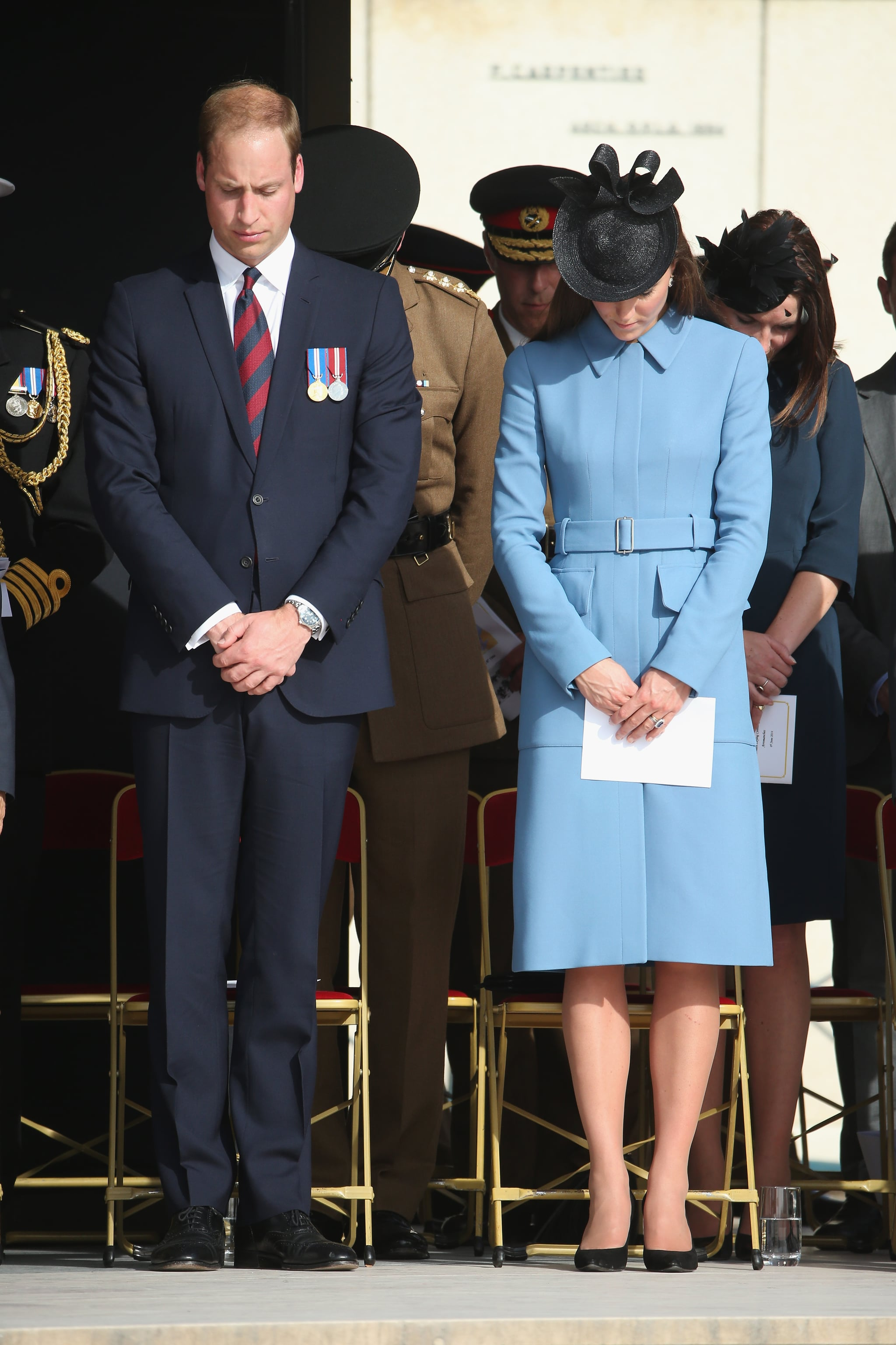 Kate Middleton in Normandy, France
