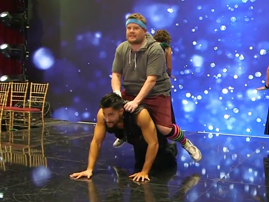 Move Over, Maks Chmerkovskiy! James Corden Is Dancing with the Stars' Newest Bad Boy of the Ballroom