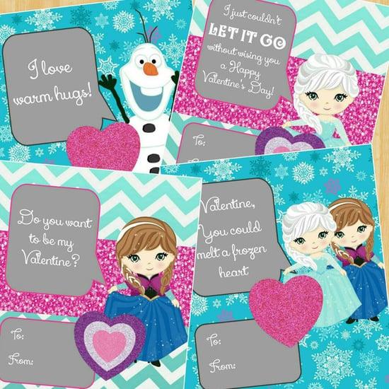 Disney Valentine's Day Card Ideas